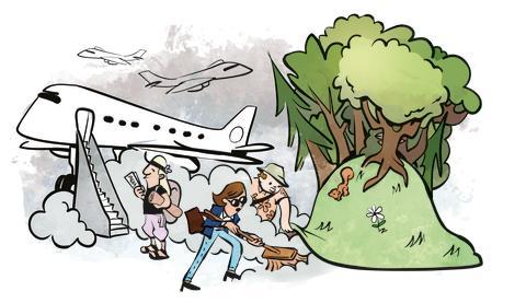 Desværre: Du kan ikke kompensere for din flyvetur