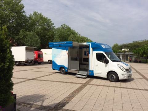 Beratungsmobil der Unabhängigen Patientenberatung kommt am 22. März nach Waldshut-Tiengen.