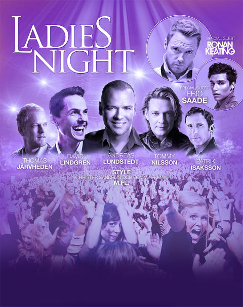 Swebus i samarbete med Ladies Night!