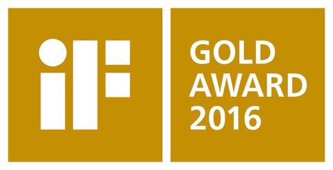 iF Gold Award 2016 logo