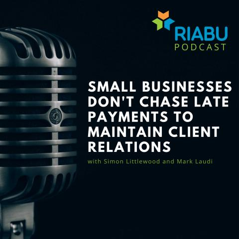 Small businesses don't chase late payments to maintain client relations