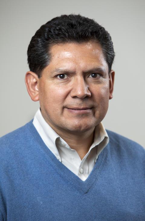 Jorge Velásquez, landchef Bolivia