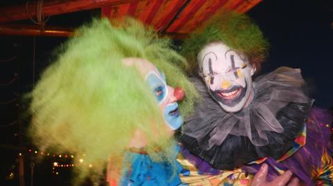 Skruvad clowninvasion på Liseberg