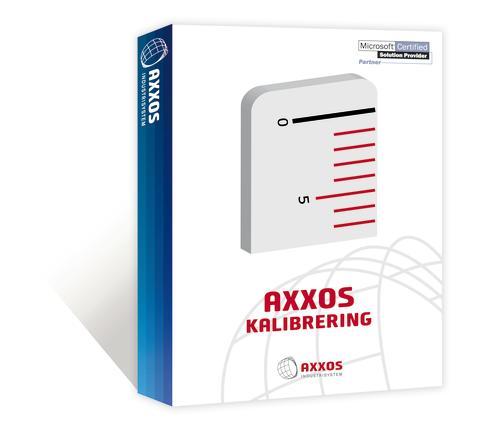 Axxos Kalibrering är ett komplett program för hantering och registrering av mätdon.