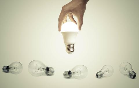 Mange fordeler med å bytte til LED-lamper