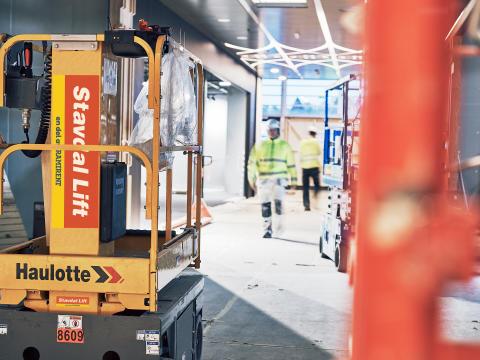 Ramirent lanserar Sveriges första rikstäckande liftspecialist