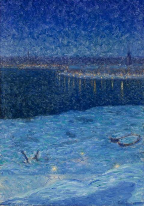 Eugène Jansson - Visionär i blått