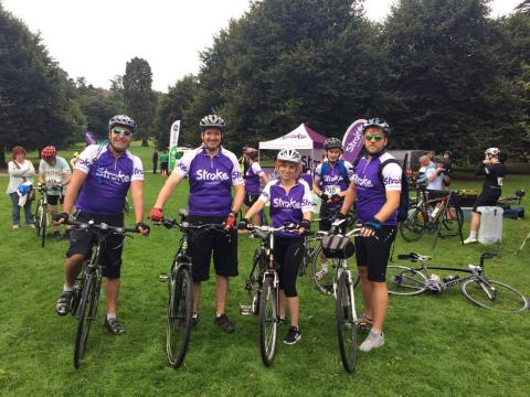 ​Queen Elizabeth Hospital year-long fundraising boosts the Stroke Association