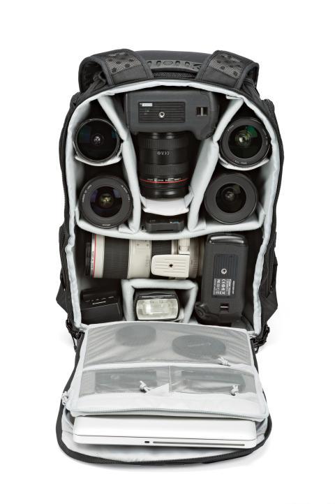 Lowepro Pro Tactic 450 AW pakket med udstyr