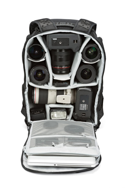Lowepro Pro Tactic 450 AW pakket med utstyr
