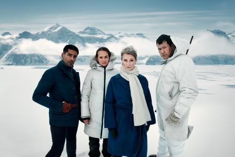Tynd is - Alexander Karim, Bianca Kronlöf, Lena Endre og Angunnguaq Larsen