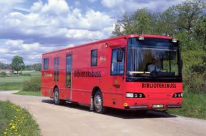 Årets bokbuss 2004 finns i Uppsala
