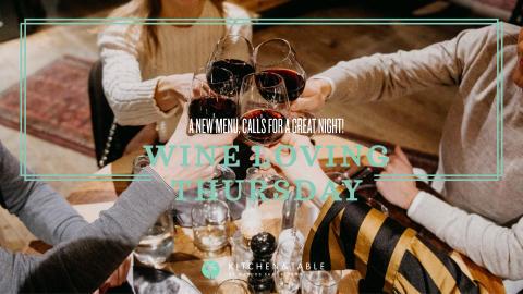Wine Loving Thursdays x Kitchen & Table Kungsholmen