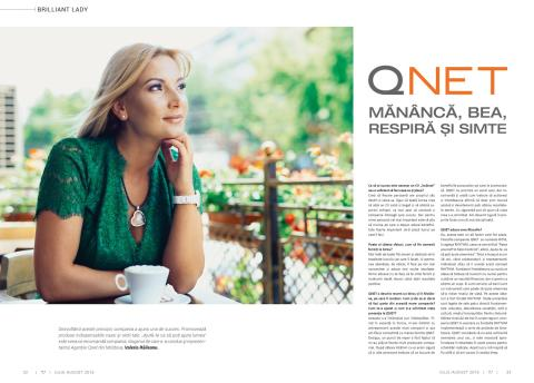 Absolute Living concept in Brilliance magazine (July edition) of Moldova