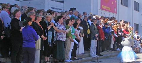 Dunkers kulturhus söker körer till 1 maj