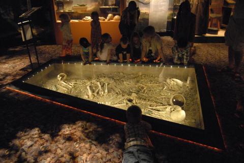 Bergsgraven med skolbarn