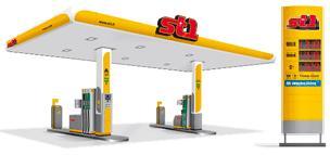 Vi profilerar 160 bensinstationer till St1