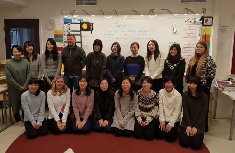 Japanskt intresse för den svenska förskolan