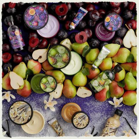 Seasonals Christmas 2019; Rich Plum, Warm Vanilla & Juicy Pear
