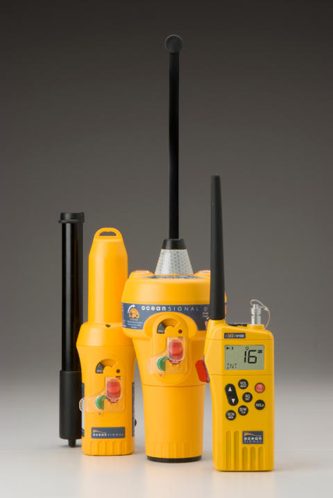 Hi-res image - Ocean Signal -  GMDSS and safety equipment