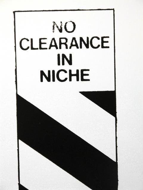 Gardar Eide Einarsson, Detalj ur: No Clearance in Niche [Stå ej i nischen], 2008