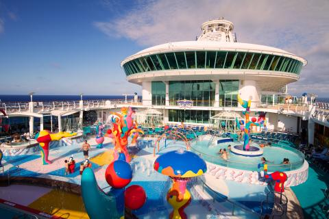 Freedom of the Seas - lasten vesipuisto