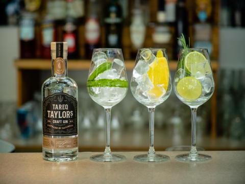 Tareq Taylor Craft Gin GT trio 2