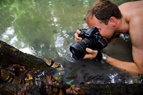 Möt världsfotografen och miljöinspiratören Mattias Klum på Ekeby Reningsverk den 5 september