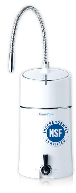 QNET's HomePure is a 7-stage filtration system that produced Pi-water, water very similar to that found in the body.