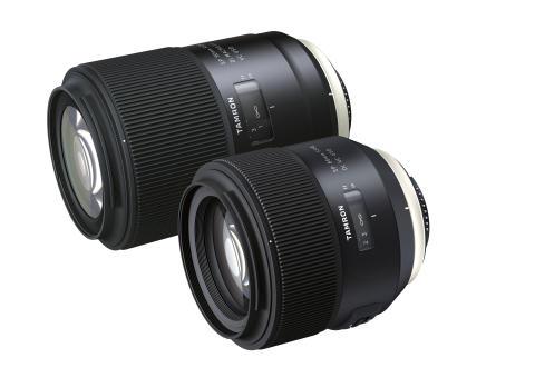 Tamron SP 90mm och SP 85mm gruppbild