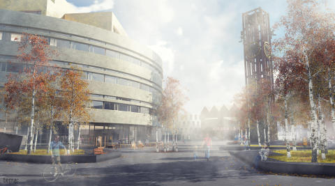 Public Luxury: Kiruna city hall by  Henning Larsen Architects