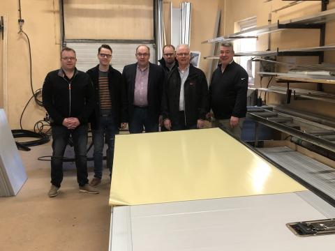 NHK Umeå levererar dörrar till Sandahlsbolagen i samarbete med Tyllis!