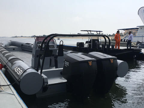 OXE DIESEL with strong presence at NAVDEX 2017