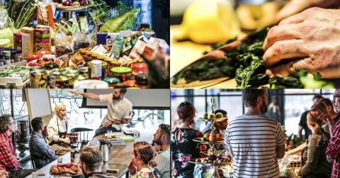 Under höstlovet undervisar vi skolkockar i ämnet vegetarisk matlagning för en hållbar framtid