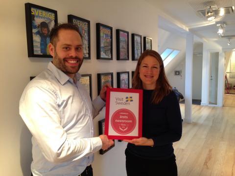 Vinder af Årets Newsroom: VisitSweden