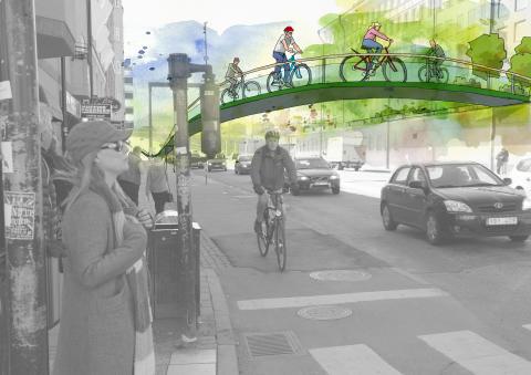En ny nivå  - cykel
