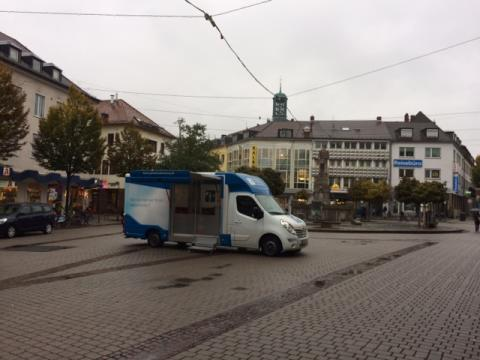 Beratungsmobil der Unabhängigen Patientenberatung kommt am 10. Januar nach Darmstadt.