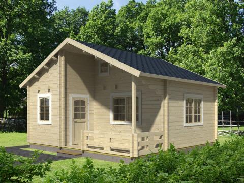 Skånska Byggvaror lanserar stugor på 40 kvadratmeter