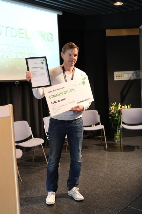 Utmaningen 2014_Vinnare av hederspris Systematik_Lina Grundskola, Södertälje