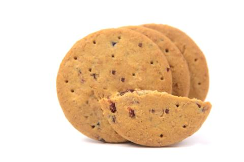 Consumers prefer taste and sweetness of reduced-sugar cookies with Taura's JusFruitTM pieces
