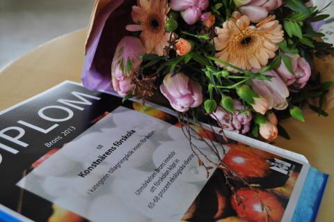 Diplom till förskolor som köpt in ekologisk mat