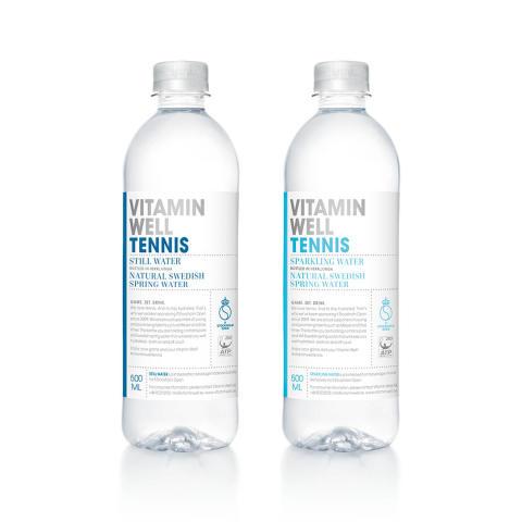 Vitamin Well fortsätter att satsa på tennis – sponsrar IF Stockholm Open för 8:e året
