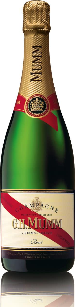 Lättviktsflaska för G.H MUMM champagner