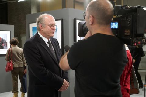 """Otwarcie wystawy zdjęć Tomasza Tomaszewskiego - """"To co trwałe"""""""