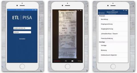 So einfach war die Digitalisierung noch nie... unsere ETL | PISA Beleg-App