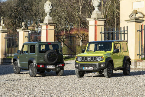 Danmarkspremiere på ny Suzuki Jimny