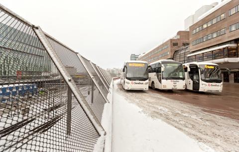 Trafikrapport från Swebus: Inga inställda turer men förseningar Jönköping - Göteborg