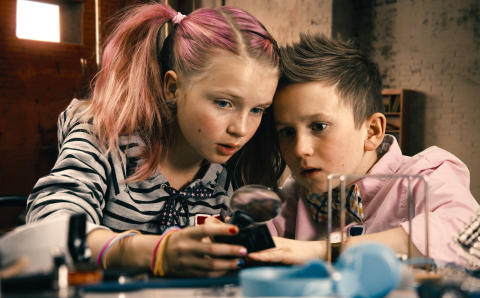 Kulturama-elev spelar Lasse i nya detektivfilmerna