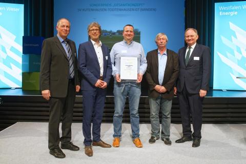 Klima.Sieger-Sonderpreis 2019 geht nach Kutenhausen-Todtenhausen! Westfalen Weser Energie-Gruppe fördert mit bis zu 25.000 Euro Klimaschutz in Vereinen