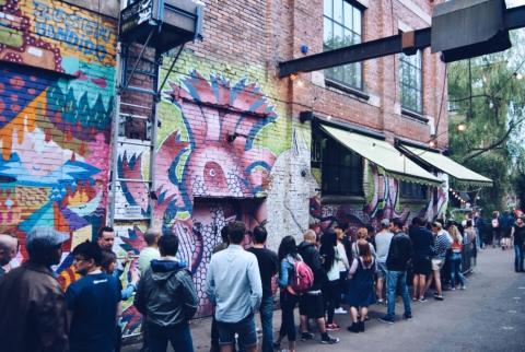 Уличное искусство в Осло